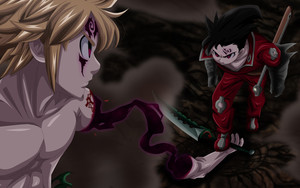 Смотреть обои Anime, Meliodas, The Seven Deadly Sins, Zeldris