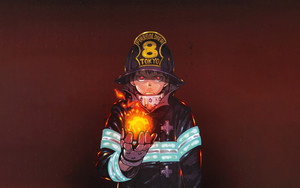 Preview wallpaper Anime, Fire Force