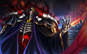 Preview wallpaper of Ainz Ooal Gown, Anime, Overlord