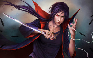 Preview wallpaper  <b>Art</b>, Naruto Shippuden, Itachi Uchiha