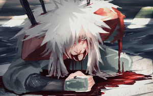 Preview wallpaper of Anime, Jiraiya, Die, Art, Naruto