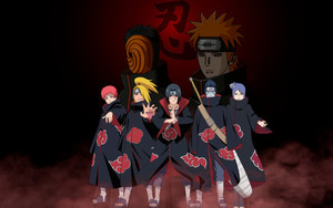 Preview wallpaper Anime, Naruto, Akatsuki, Heroes