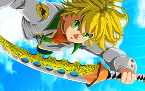 Смотреть обои Meliodas, The Seven Deadly Sins