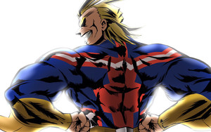 Preview wallpaper Anime, All Might, Toshinori Yagi