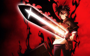 Preview wallpaper of Anime, Asta, Black Clover, Demon