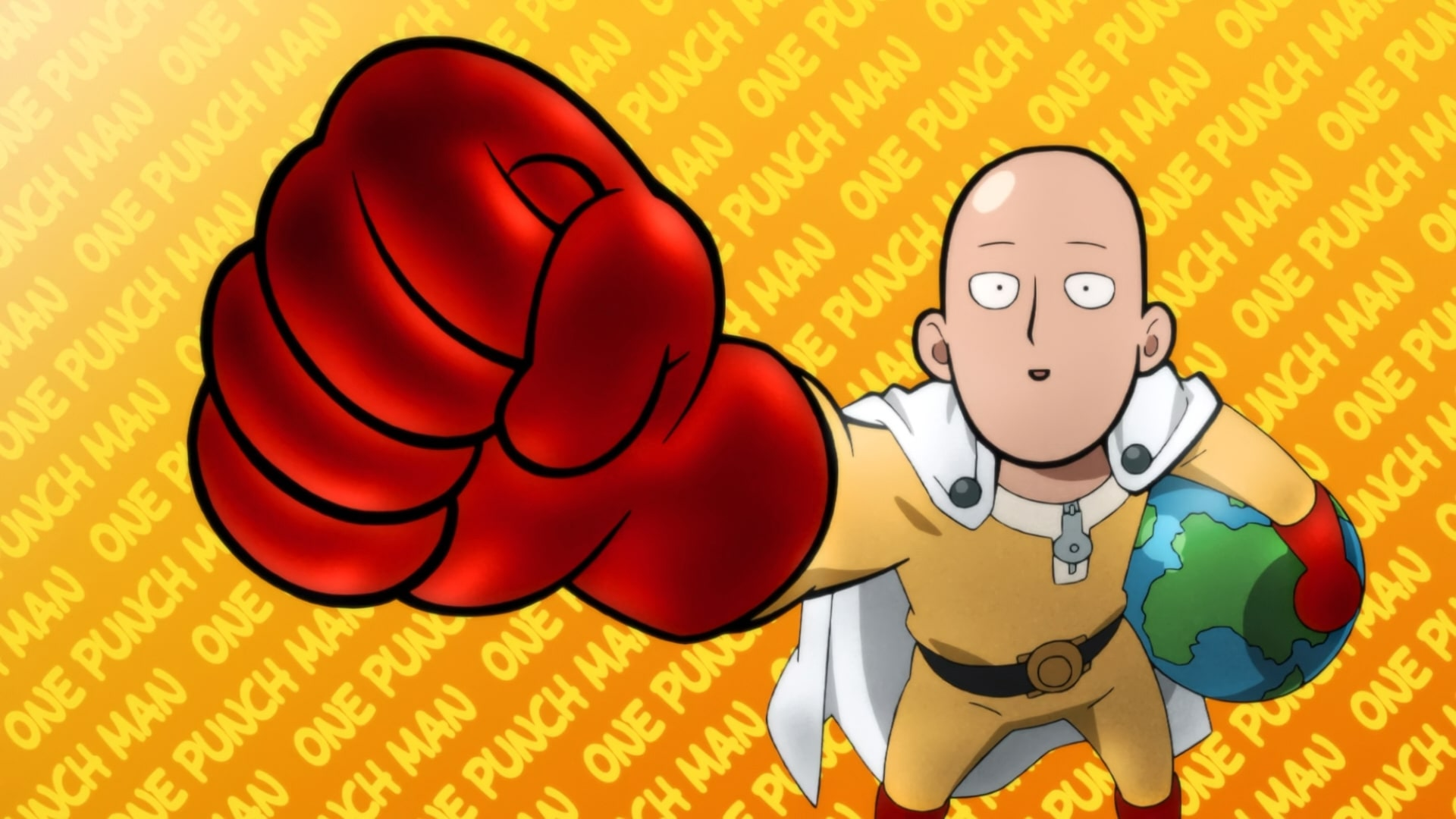 Wallpaper Of Anime One Punch Man Season 2 Saitama Background