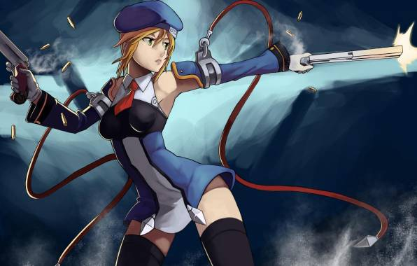 Обои Blazblue, Noel Vermillion