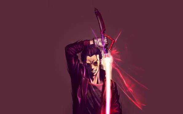 Обои No More Heroes, Travis Touchdown, Goichi Suda