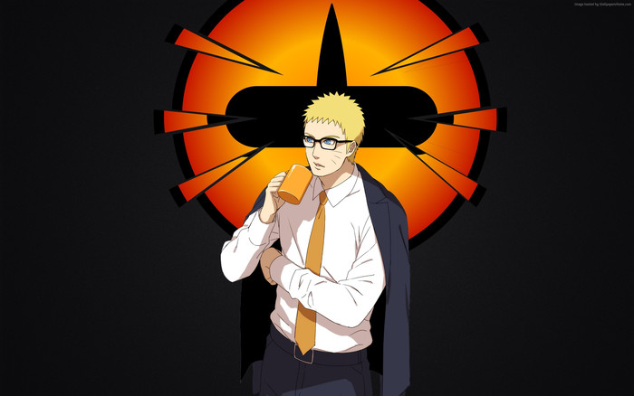 HD Wallpaper of Anime, Naruto, Ricudo Sennin Mod