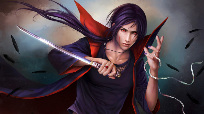 HD Wallpaper of Art, Naruto Shippuden, Itachi Uchiha