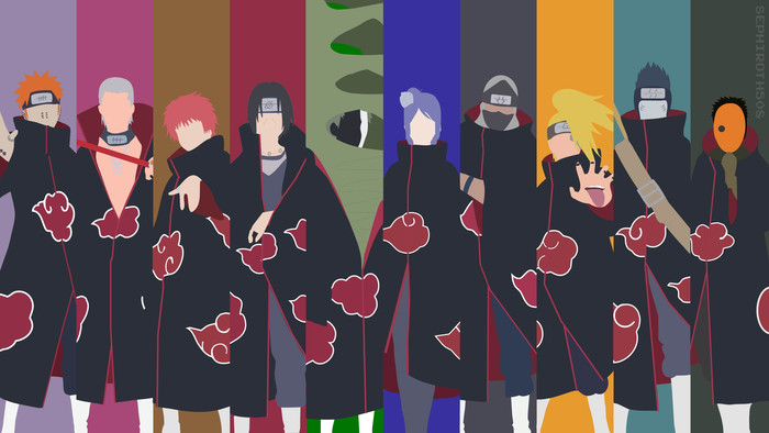 HD Wallpaper of Anime, Naruto, Akatsuki