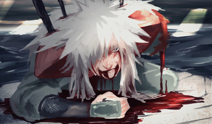 HD Wallpaper Anime, Jiraiya, Die, Art, Naruto