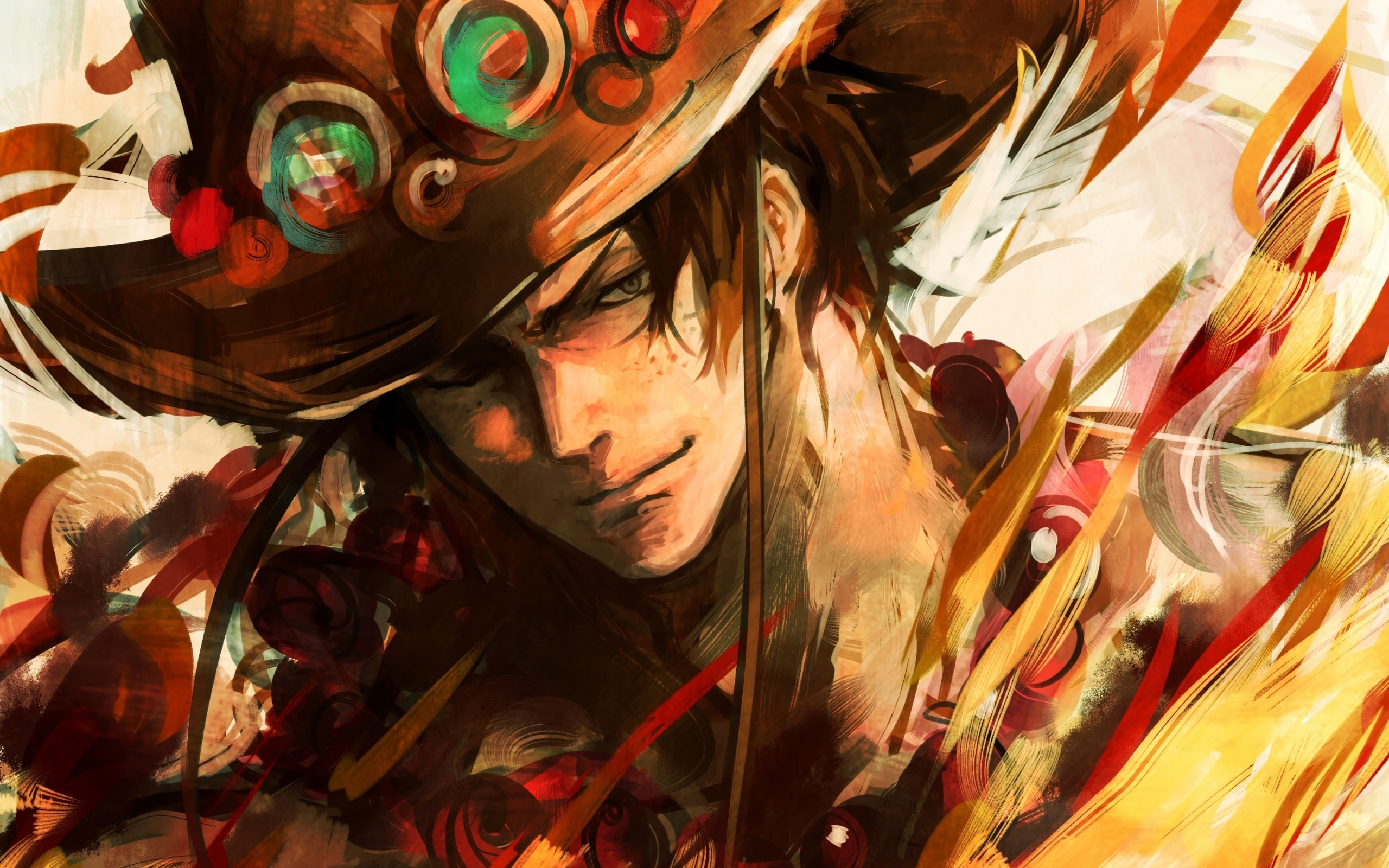 Wallpaper Of Portgas D Ace Anime One Piece Background