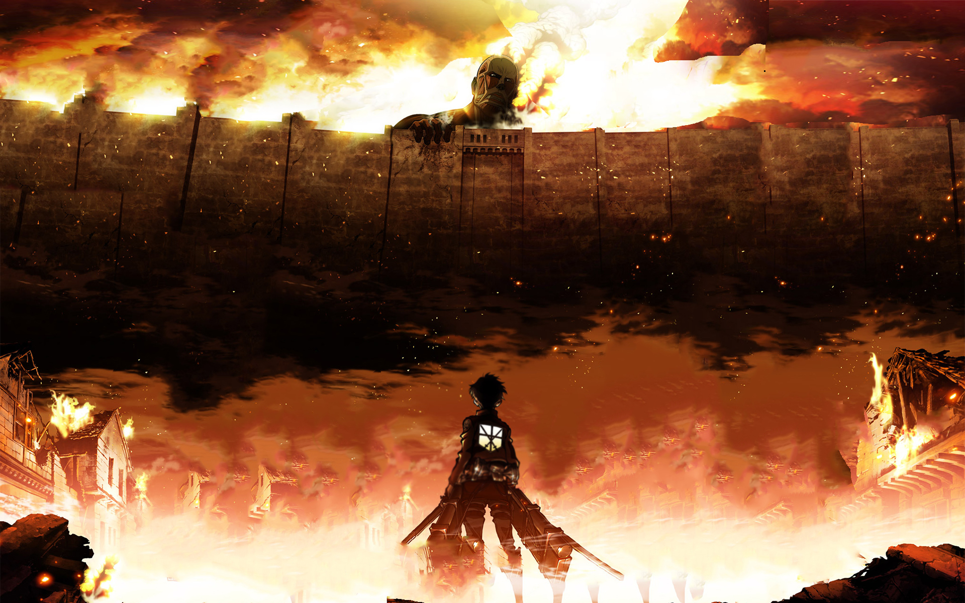 HD Wallpaper Attack On Titan Eren Jaeger Shingeki No Kyojin