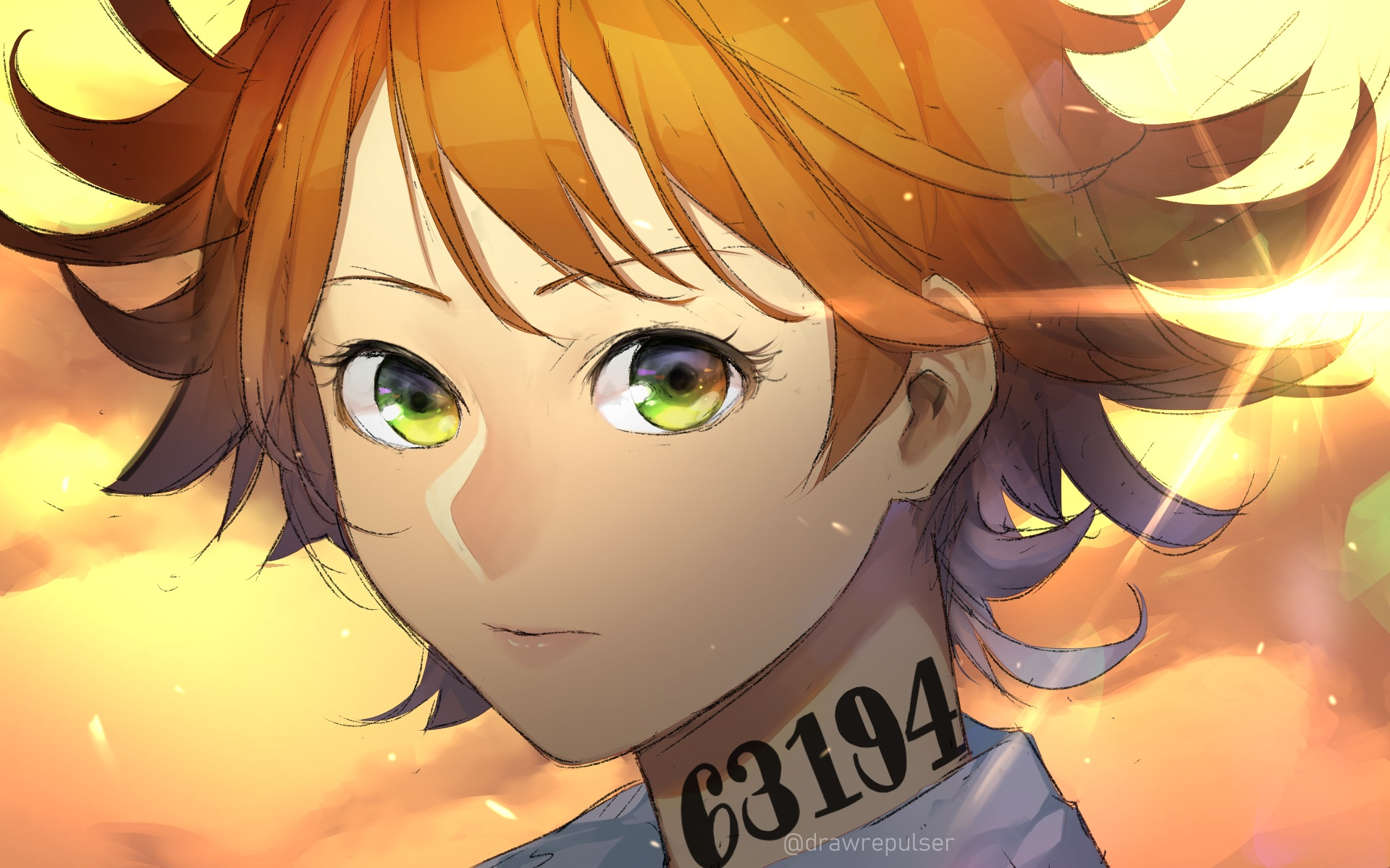 Wallpaper Of Emma The Promised Neverland Art Background Hd Image