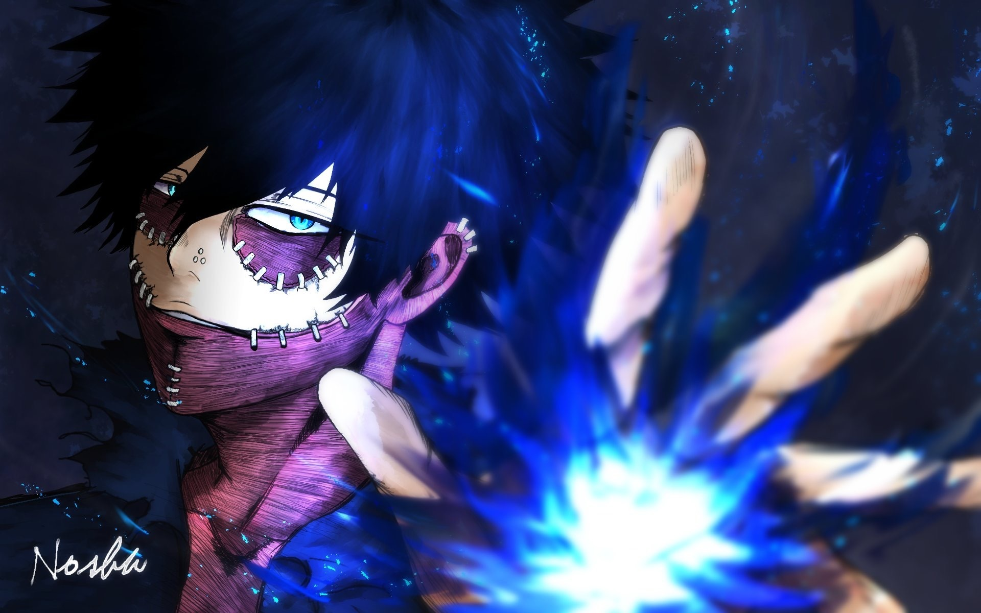 Wallpaper Of Dabi Boku No Hero Academia Anime Background