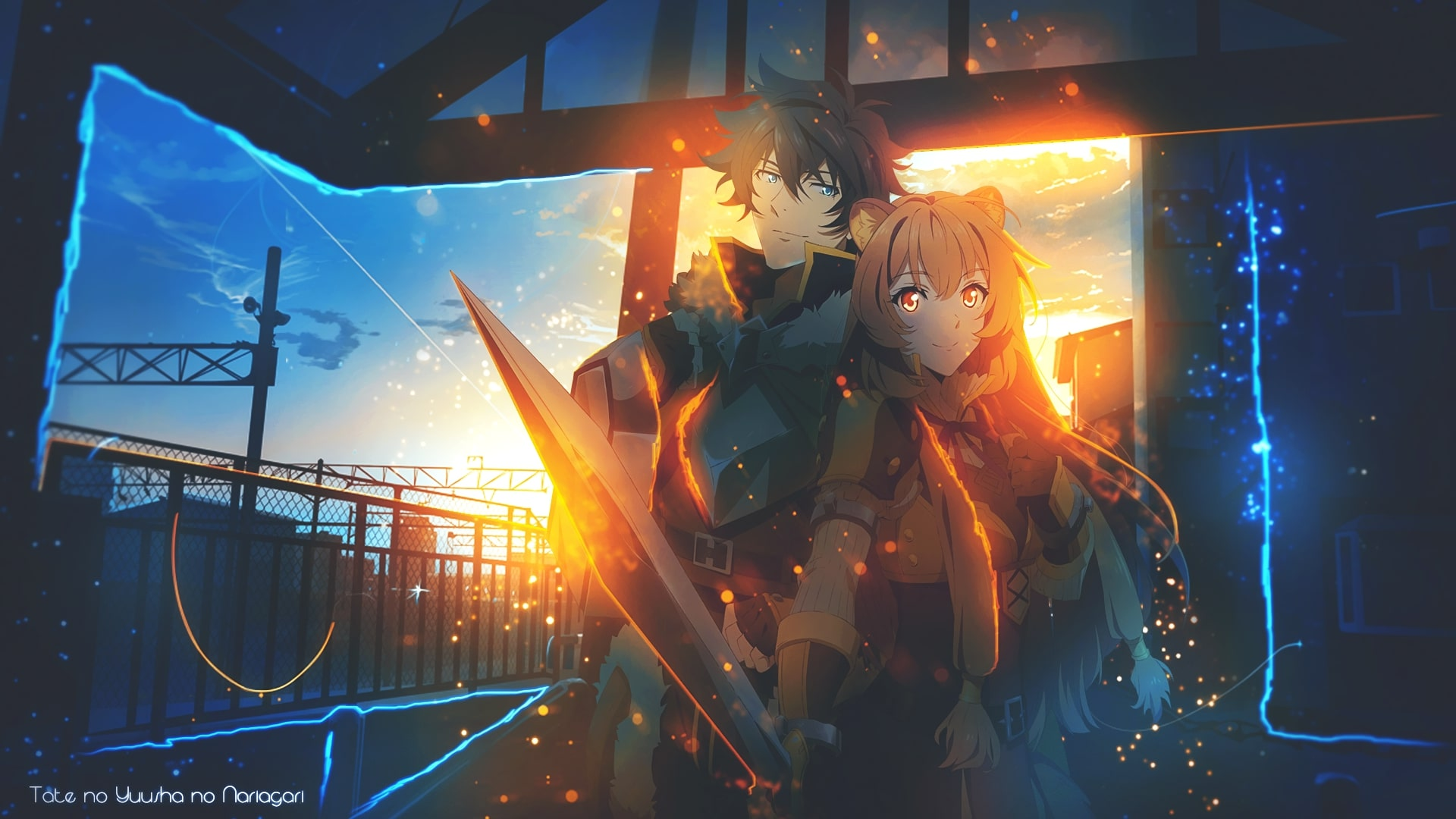 Wallpaper Of Anime Art The Rising Of The Shield Hero Background