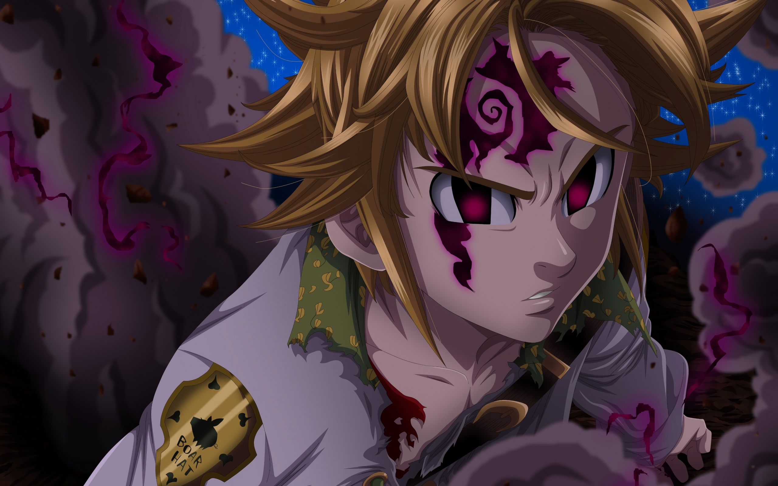 Wallpaper Meliodas Demon Mode: Wallpaper Of Meliodas, Anime, Demon, The Seven Deadly Sins