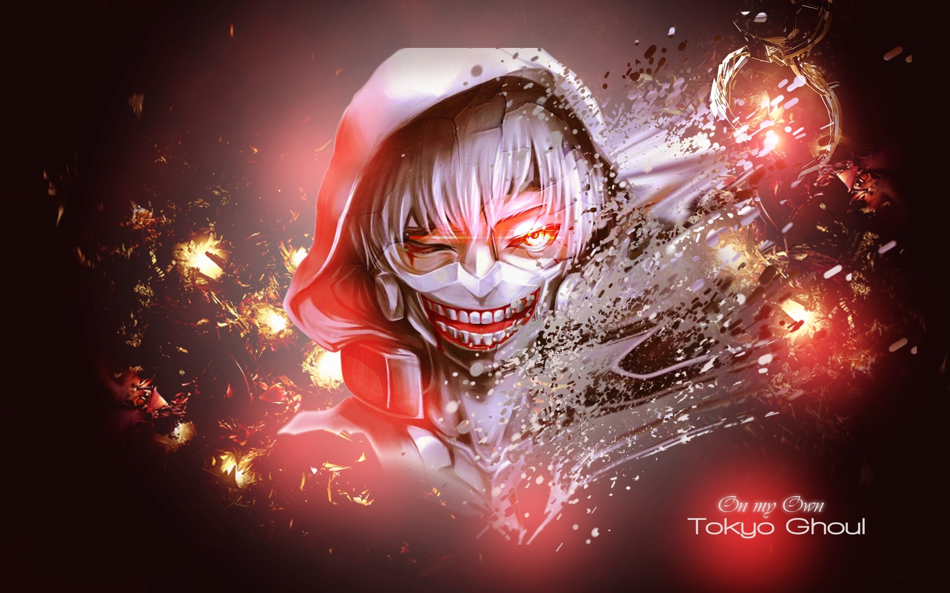 Wallpaper Ken Kaneki Anime Tokyo Ghoul Desktop Picture Hd Photo