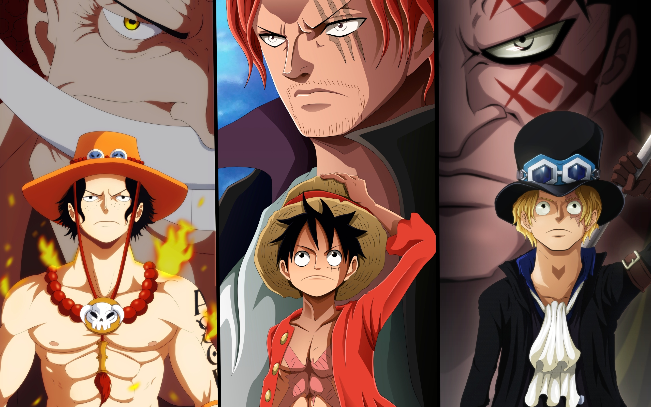 Anime One Piece Heroes Wallpaper