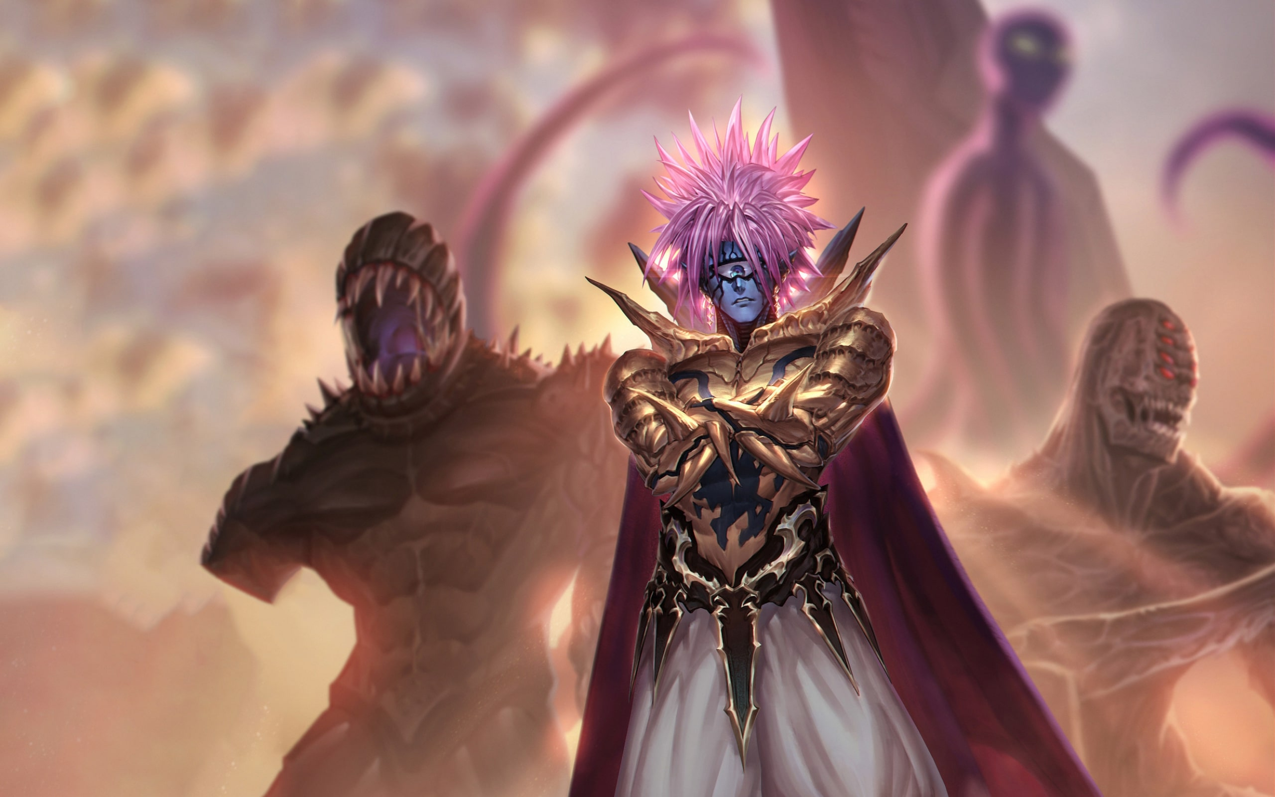 Wallpaper Of Boros One Punch Man Anime Background Hd Image