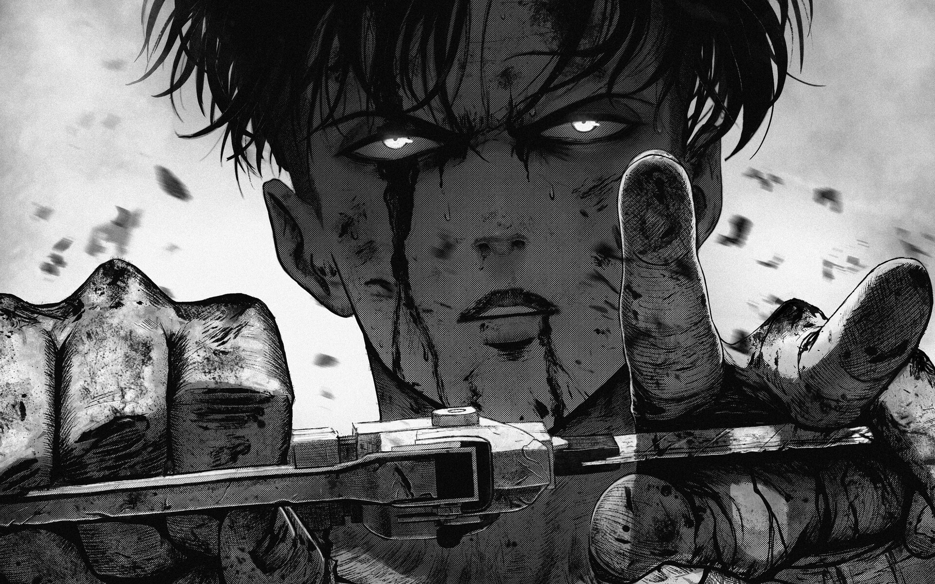 Wallpaper Of Attack On Titan Levi Ackerman Shingeki No Kyojin