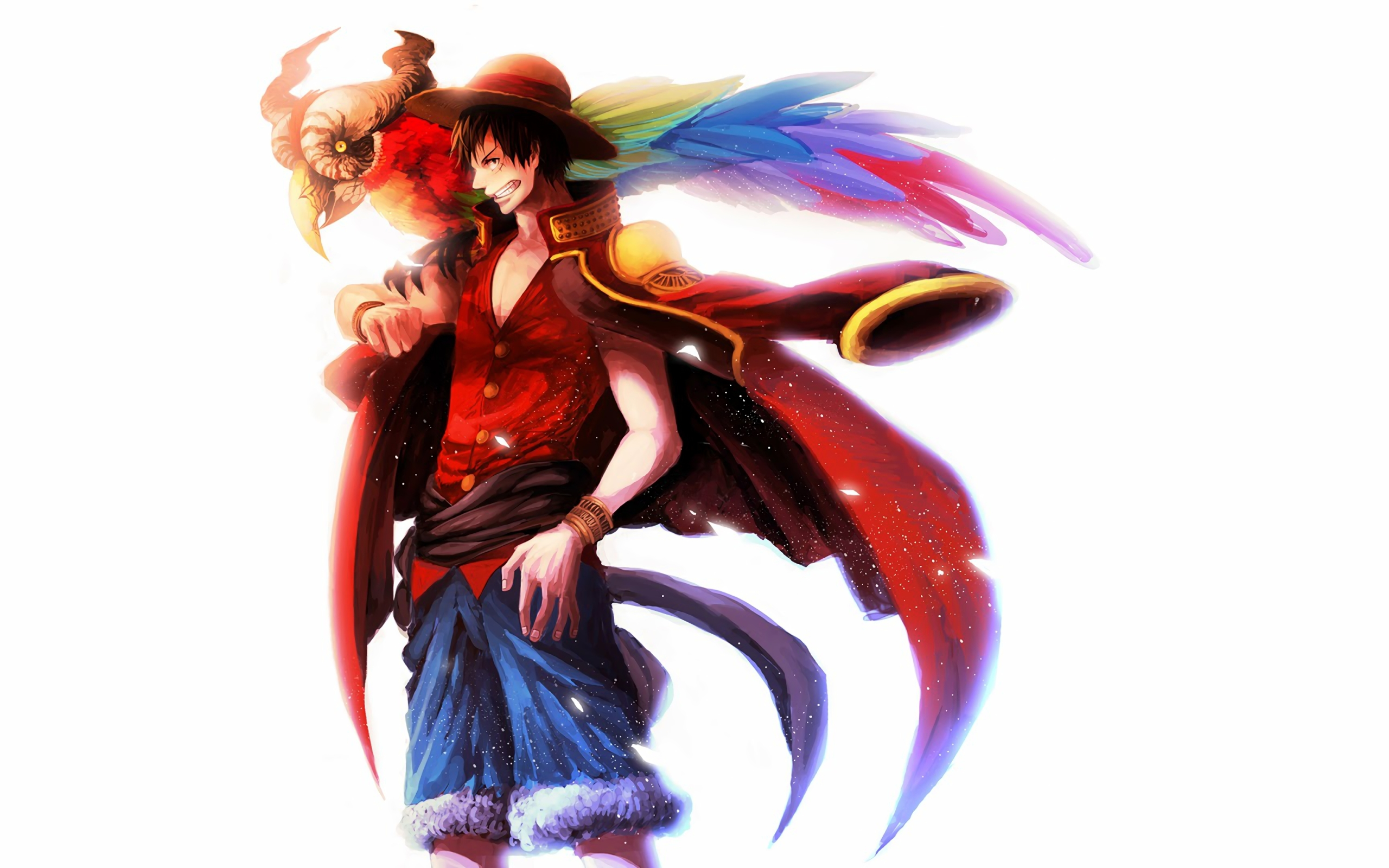 Wallpaper Anime One Piece D Luffy Desktop Picture Hd Photo