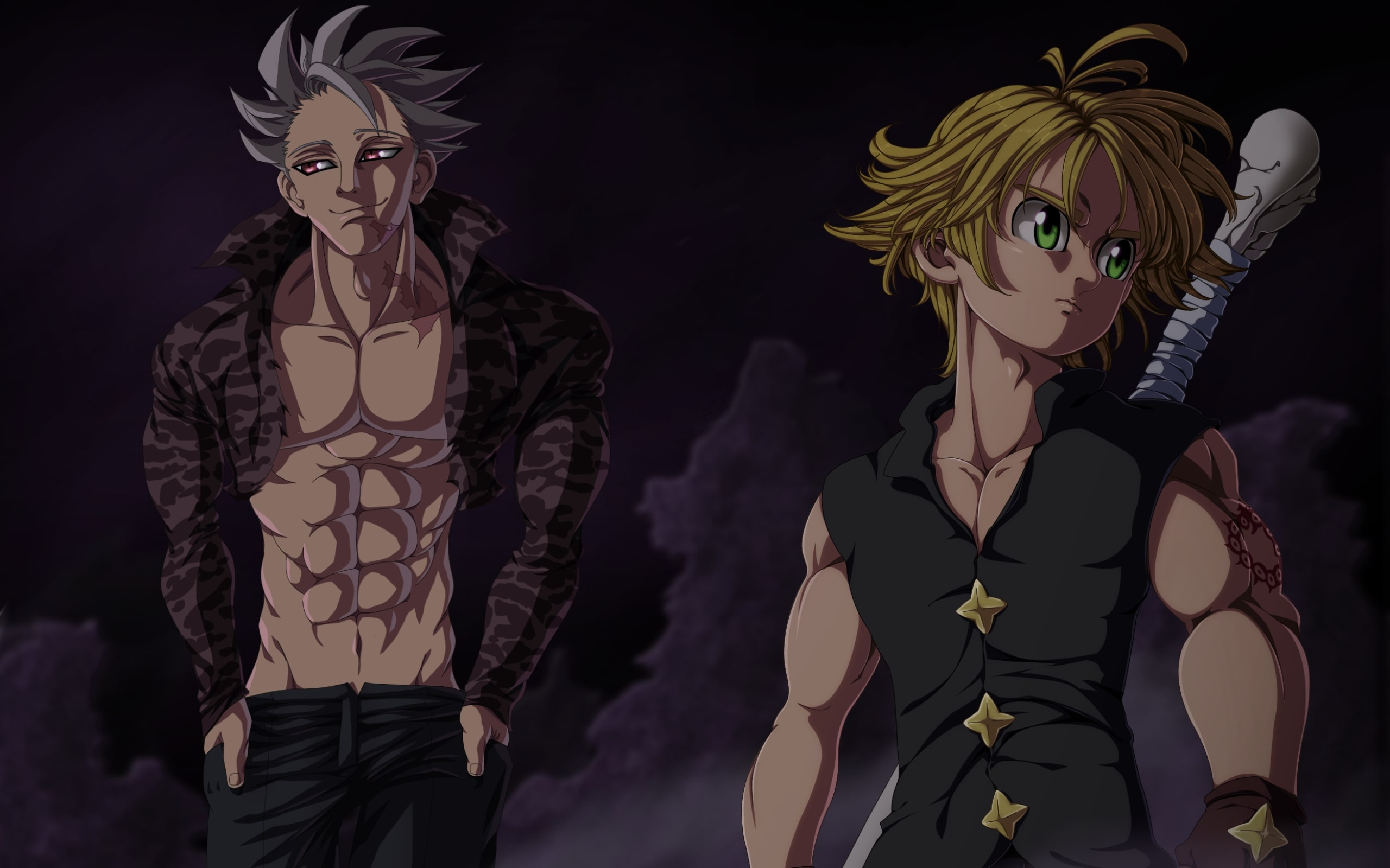 Wallpaper of ban the seven deadly sins meliodas anime sin background hd image - Ban seven deadly sins wallpaper ...