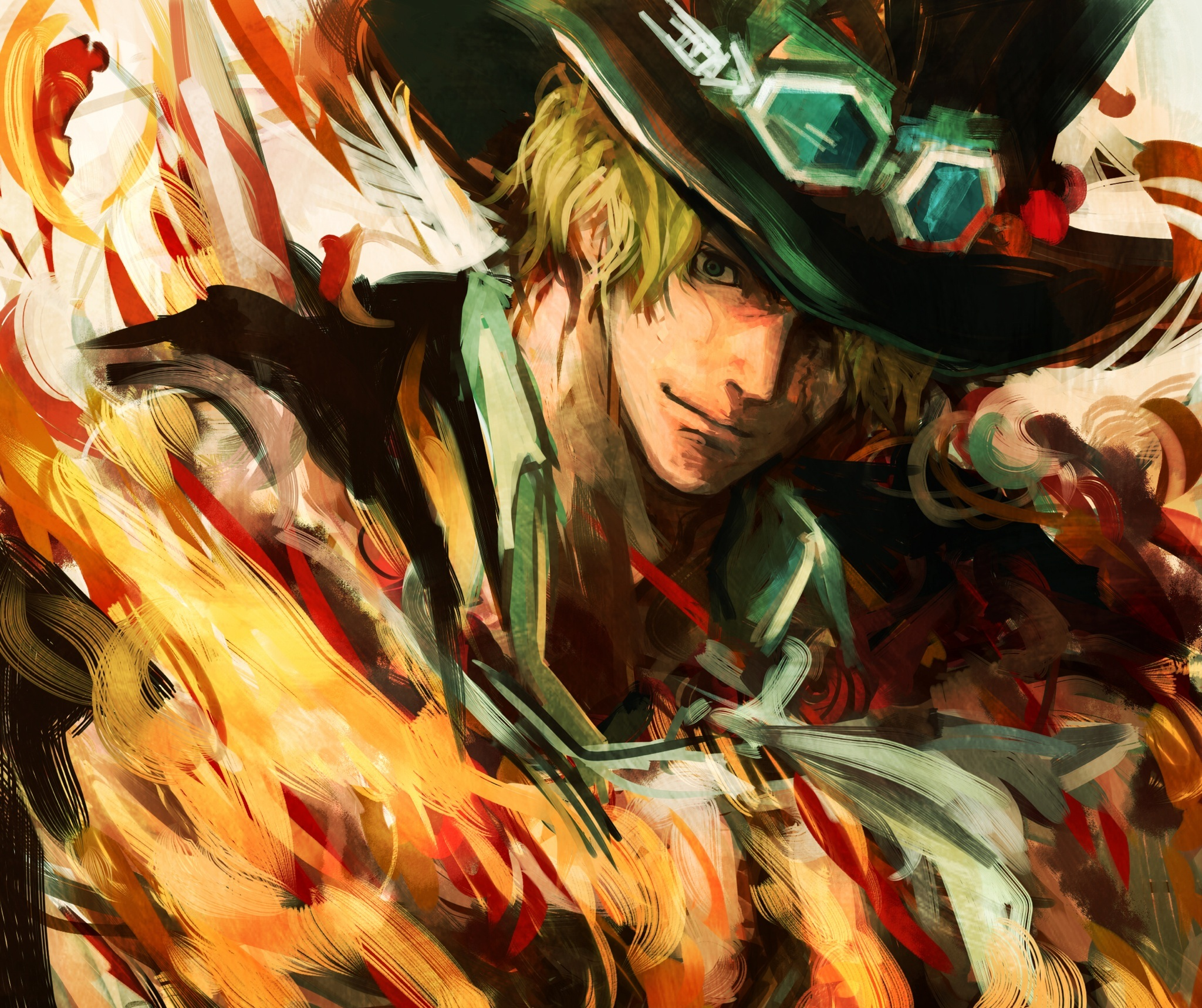 Wallpaper Of Sabo One Piece Anime Art Background Hd Image