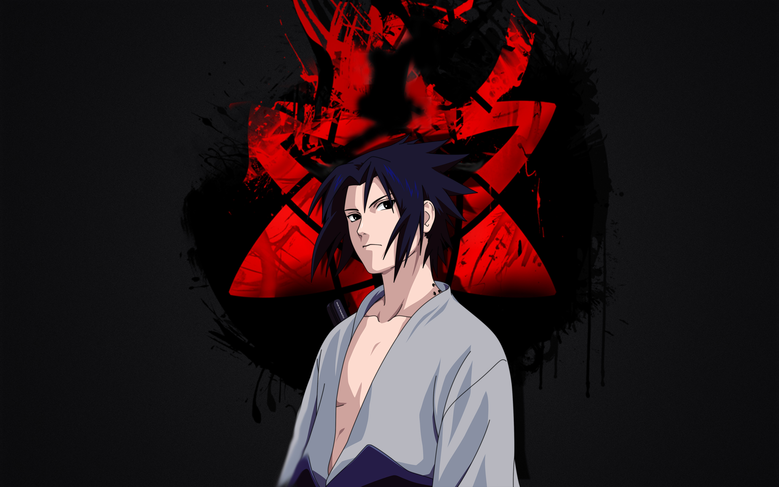 HD Wallpaper Anime Naruto Sasuke Uchiha Sharingan