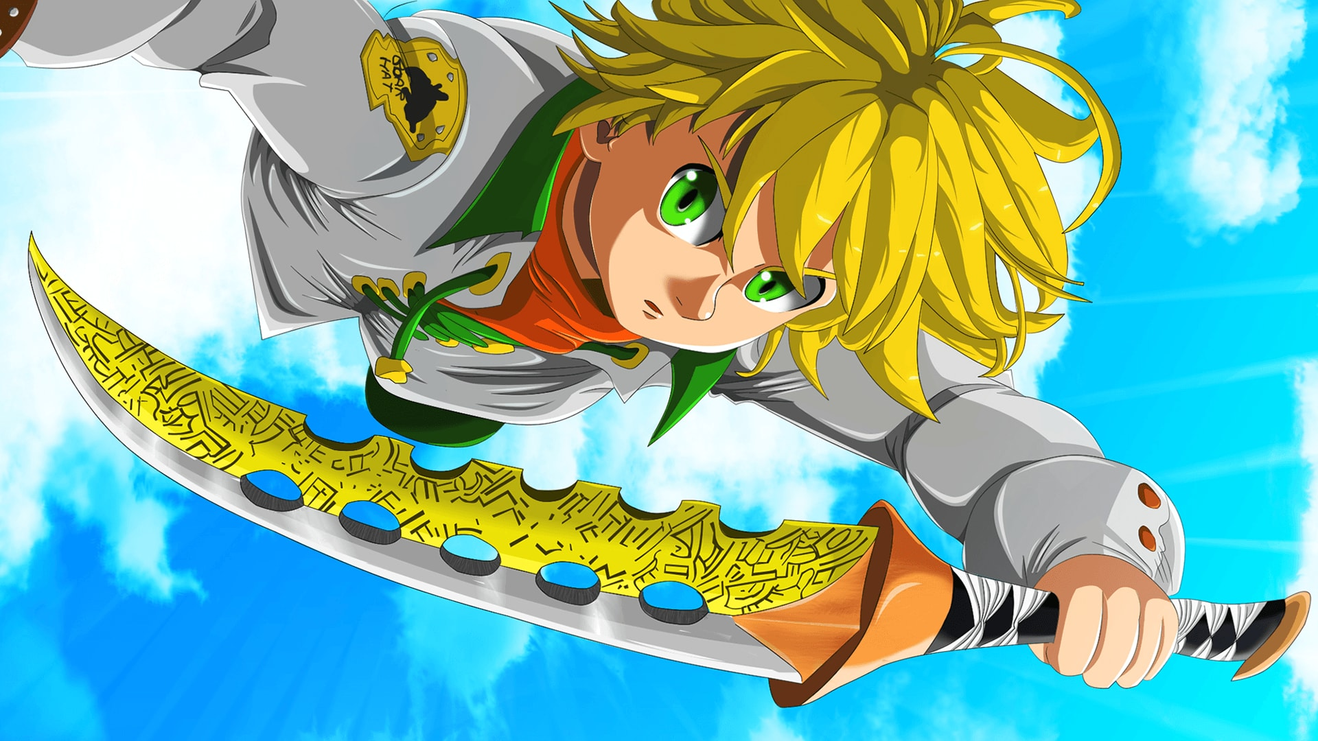 Wallpaper Of Meliodas The Seven Deadly Sins Background Hd Image