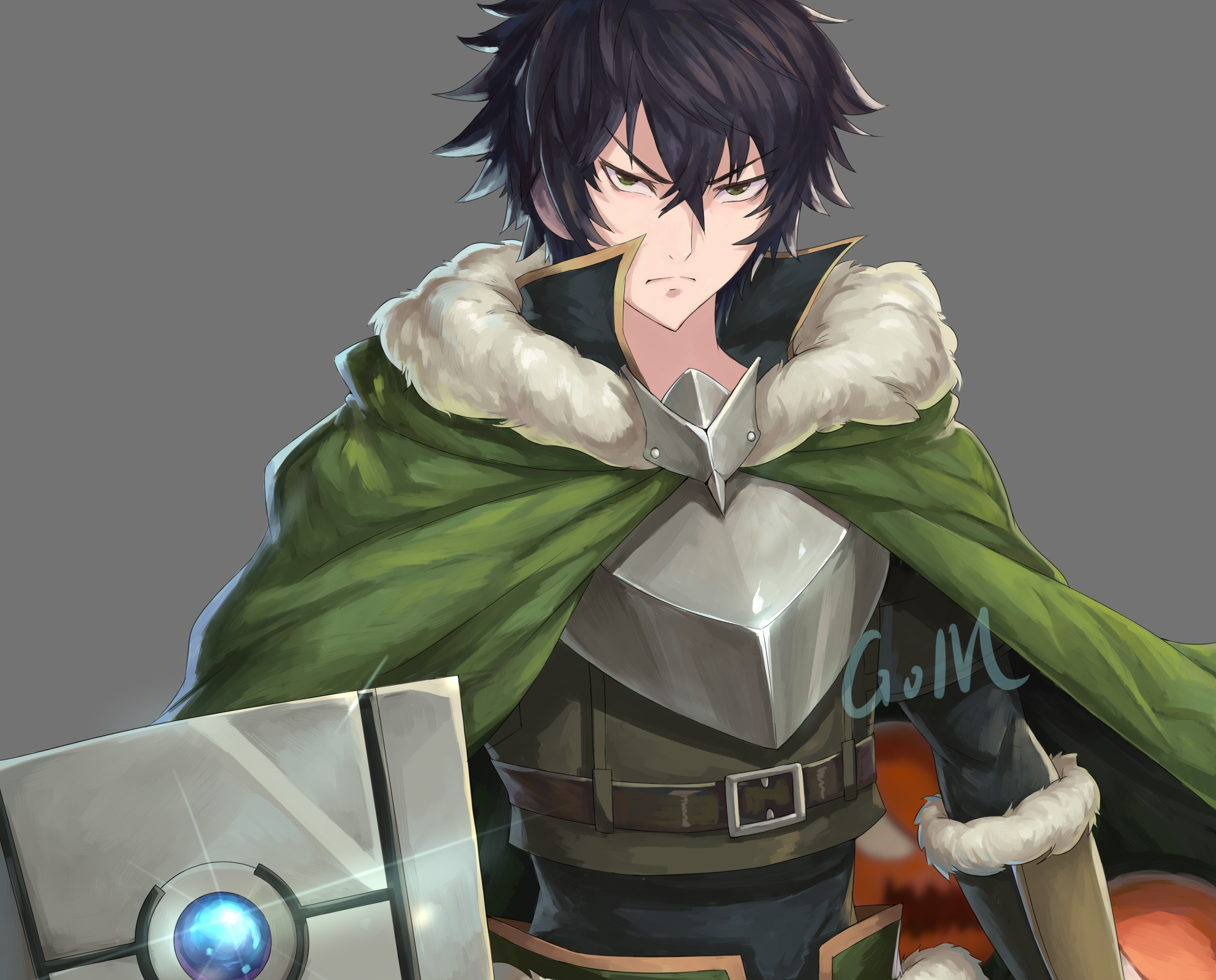 Wallpaper Of He Rising Of The Shield Hero Naofumi Iwatani