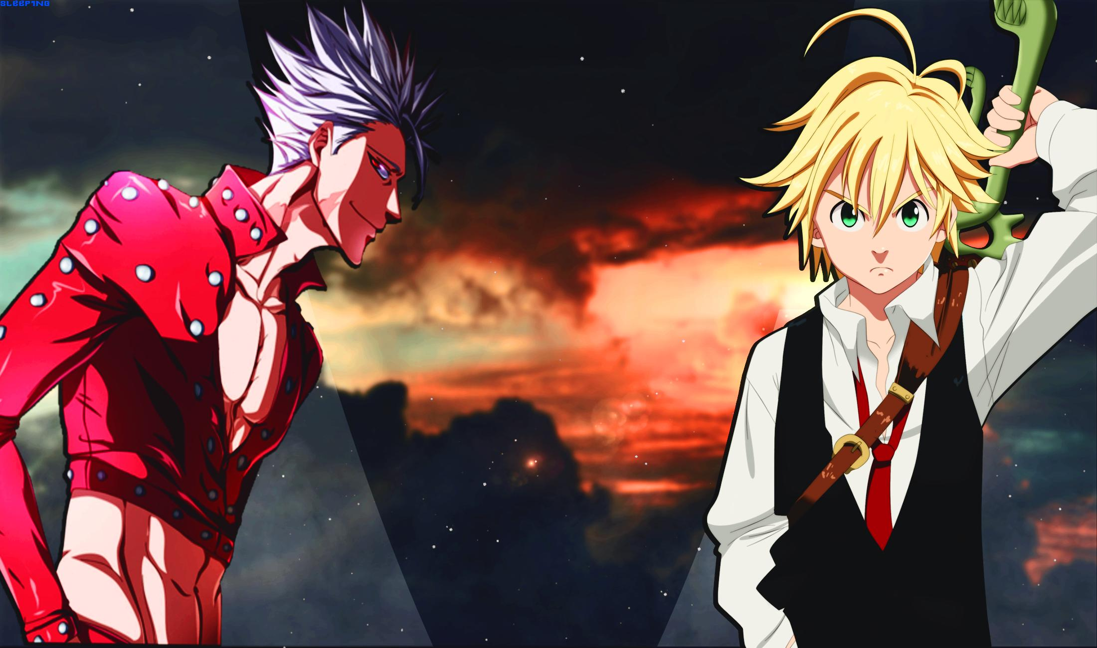 Wallpaper Of Anime Ban Meliodas The Seven Deadly Sins