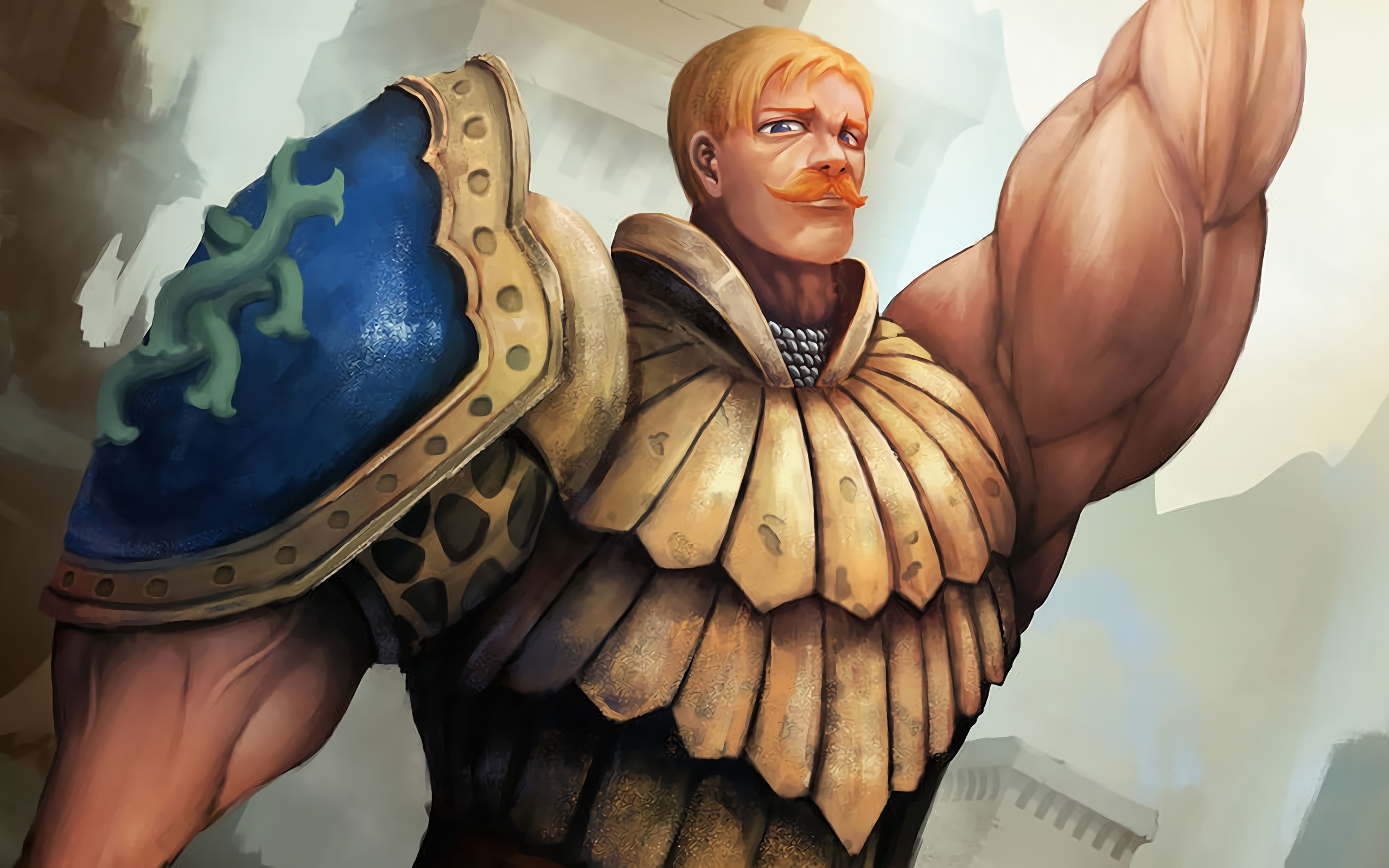 Wallpaper Of Escanor Anime The Seven Deadly Sins Background Hd