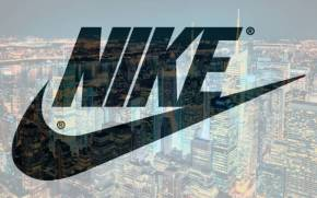 Preview wallpaper of nike, new york, night