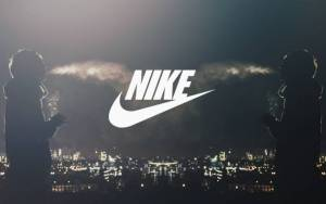Preview wallpaper of Nike, парень, дым