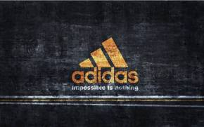 "Смотреть обои Adidas ""Impossible is nothing"""