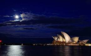 Смотреть обои Opera House, Harbour Bridge, Sydney, Australia