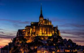 Смотреть обои Mont-St.-Michel, Basse-Normand, France