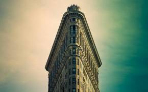 Смотреть обои new york, manhattan, flatiron building