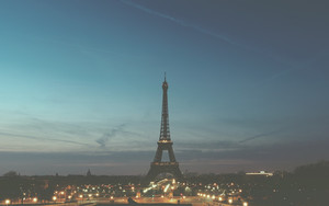 Смотреть обои Paris, France, Eiffel Tower