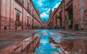 Preview wallpaper  <b>City</b>, Mexico, Reflection, Water