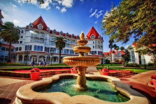 Обои Disney's Grand Floridian Resort, Walt Disney World