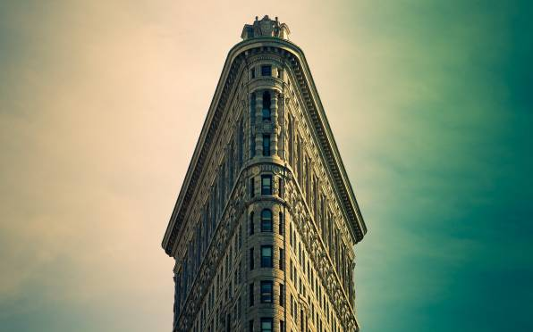 Обои new york, manhattan, flatiron building
