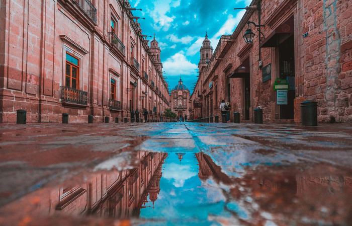 HD Wallpaper of City, Mexico, Reflection, Water