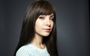 Preview wallpaper Actress, Black Hair, Blue Eyes, Ksenia Solo