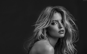 Смотреть обои Martha Hunt, Hot, Model, Beautiful