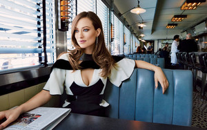 Preview wallpaper Actress, American, Blue Eyes, Olivia Wilde