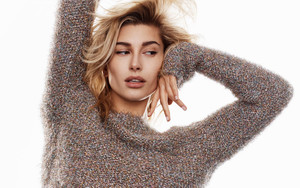 Preview wallpaper American, Blonde, Fashion, Girl, Hailey Baldwin