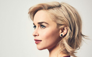 Preview wallpaper of Actress, Artistic, Blonde, Emilia Clarke, English
